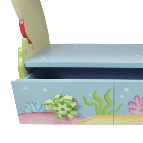 Under The Sea Furniture by Fantasy Fields Hand Painted Under The Sea Bookshelf W 7490a