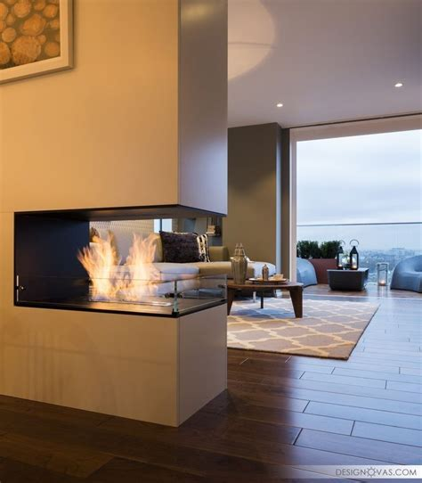 2 Sided Fireplace by 25 Best Ideas About Two Sided Fireplace On
