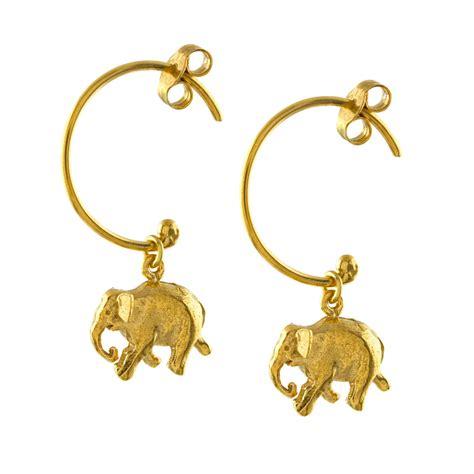 Elephant Hoop indian elephant hoop earrings