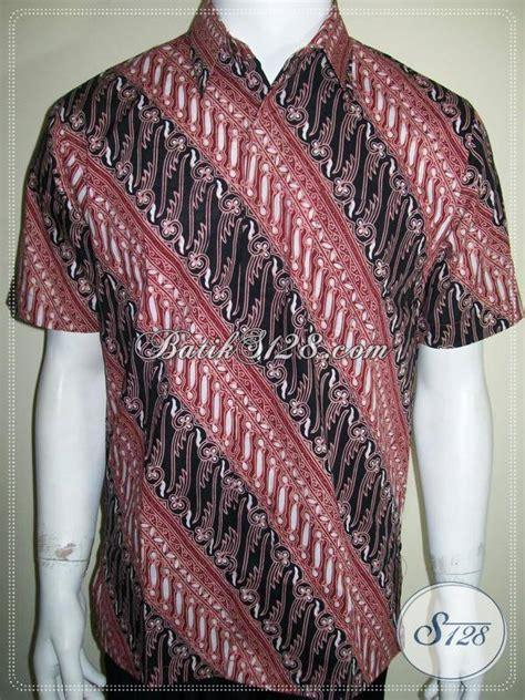 hem batik halus motif parang untuk pria adem dan nyaman