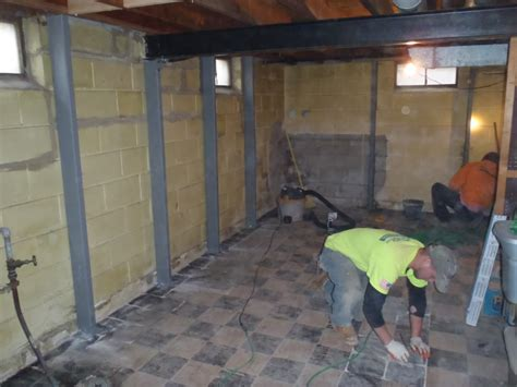 basement wall repairs drainage wisconsin leaky basement