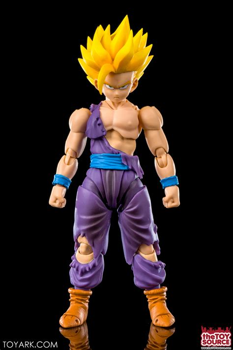 Shf Saiyan Gohan Bib Original battle damaged saiyan gohan s h figuarts z photo review the toyark