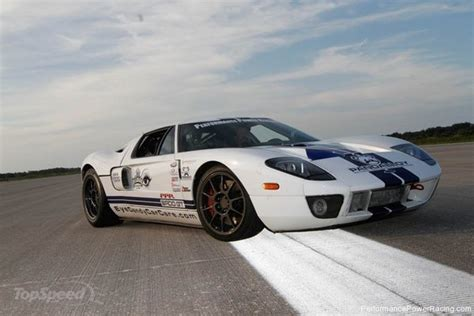 2005 Schnellstes Auto Guinness by Ford Gt Bad V8 1700 Hp Is The New World S Fastest Car