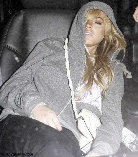 Lindsay Was Out Of by Out Of Lindsay Checks Into Rehab Daily Mail