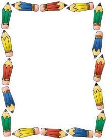 imagenes bordes escolares rayito de colores marcos escolares