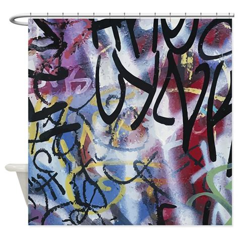 graffiti curtains and bedding graffiti wall shower curtain by iloveyou1
