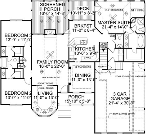 Best Home Floor Plans Marvelous Best House Plans 4 Best Ranch House Floor Plans