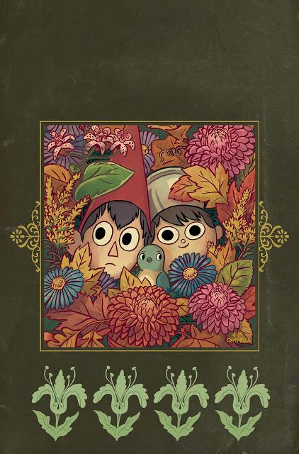 Comics Cola Patrick Mchale And Jim Cbell To Publish The Garden Wall Mchale