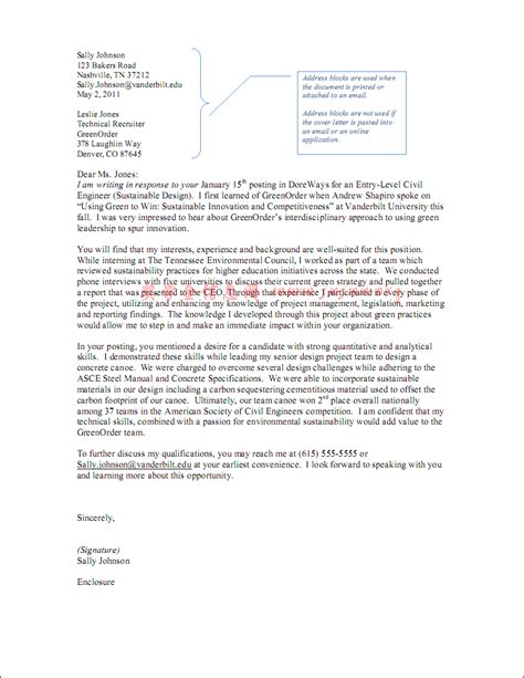 Cover Letter Sample Of Cover Letter For