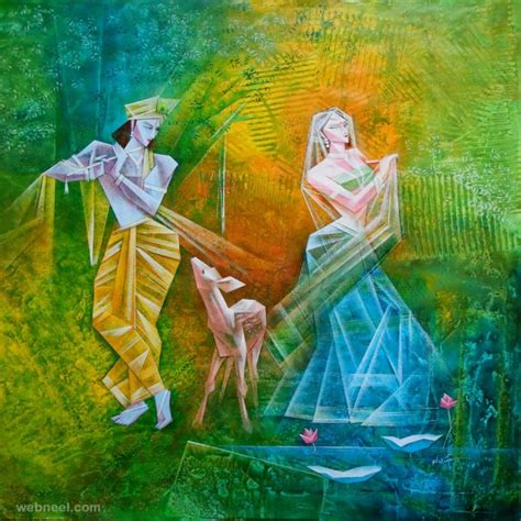 best painting 50 most beautiful indian paintings from top artists for