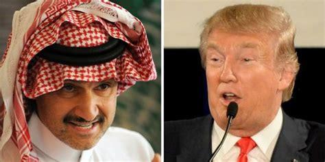 donald trump melawan dunia donald trump twitwar melawan pangeran saudi merdeka com