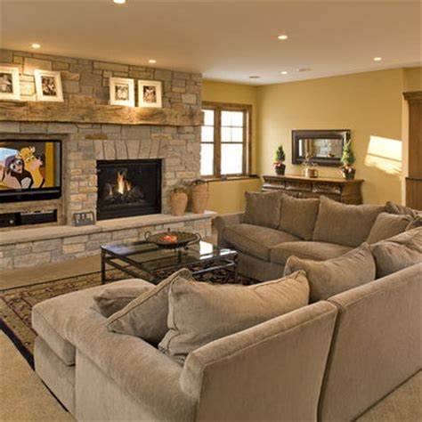 two living rooms side by side fireplace and tv side by side not to mention the furniture living space