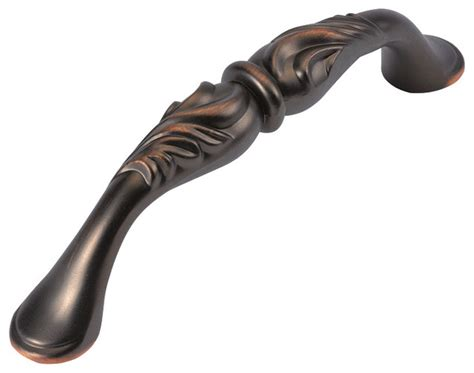 hickory kitchen cabinet hardware hickory hardware 96mm mayfair refined bronze cabinet pull