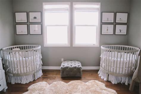 chambre jumeaux 14 adorables chambres de b 233 b 233 s pour jumeaux bricobistro