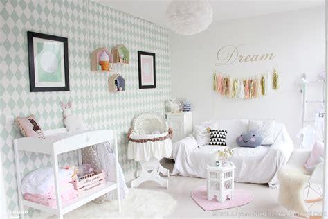 chambre bébé pastel chambre scandinave