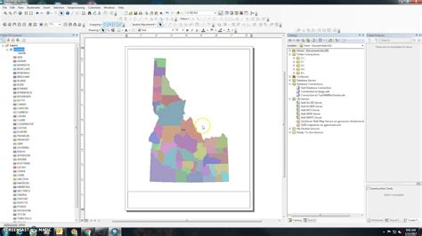 print layout view in arcgis how to print a map in arcgis 10 x