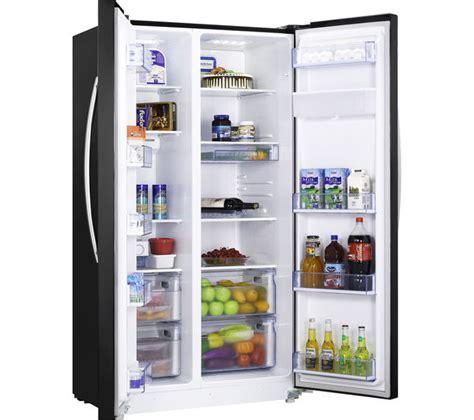 buy kenwood ksbsdb15 american style fridge freezer black