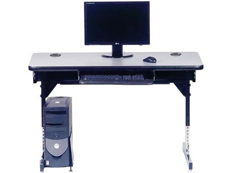 8700 series adjustable ada classroom computer table 48x24