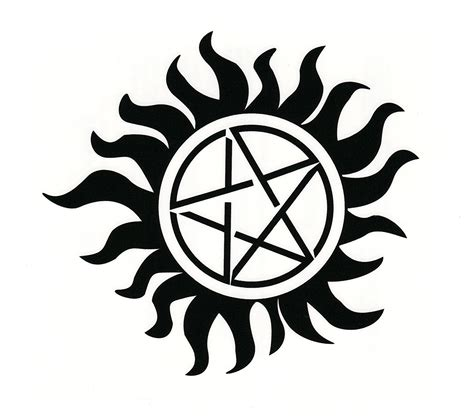 The Gallery For Gt Supernatural Anti Possession Symbol Anti Possession