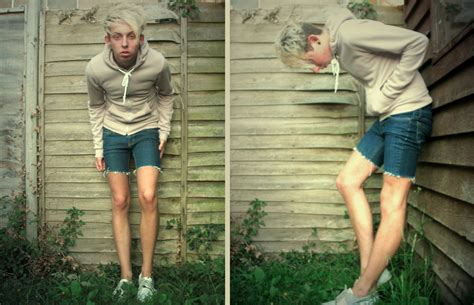 robbie boy model shorts robbie devonald american apparel mauve hoodie diy denim