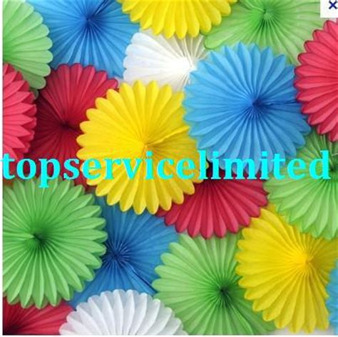 What Can You Make With Tissue Paper - 2017 paper tissue coloured fan decorations tissue