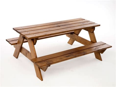 kids wooden picnic bench kids picnic table just for kids