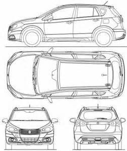 Suzuki Sx4 Dimensions The Blueprints Blueprints Gt Cars Gt Suzuki Gt Suzuki