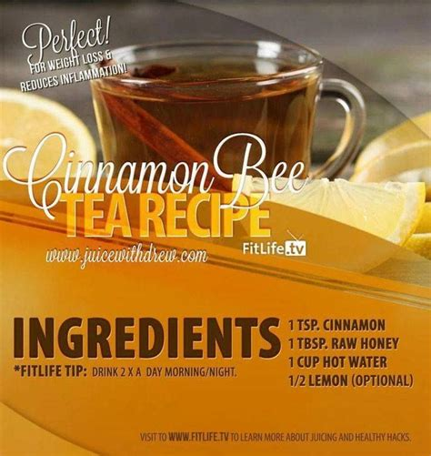 Honey And Cinnamon Detox Tea by 48 Best Images About Gesundheit On Knee
