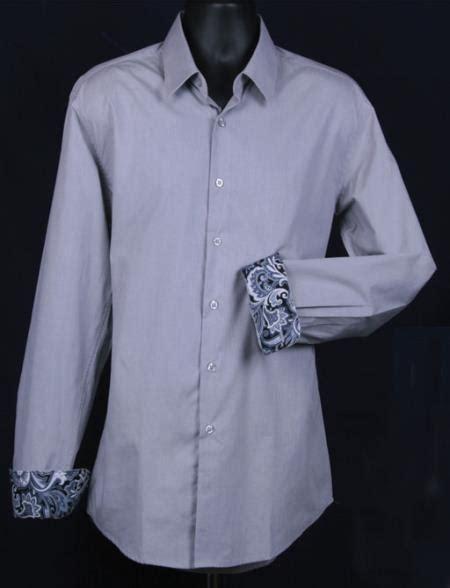 patterned dinner shirt sku ka5537 men s fancy slim fit dress shirt cuff pattern