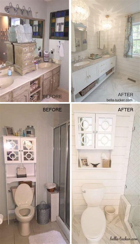 before and after makeovers 20 most beautiful bathroom remodeling ideas noted list before and after makeovers 23 most beautiful bathroom
