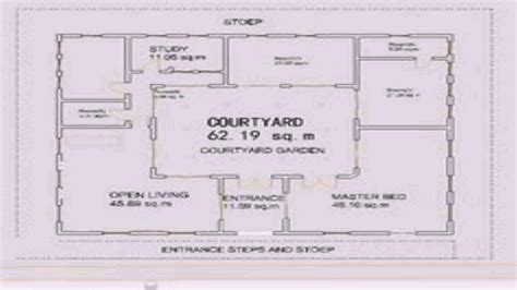 house plans with courtyard 2018 house design interior courtyard