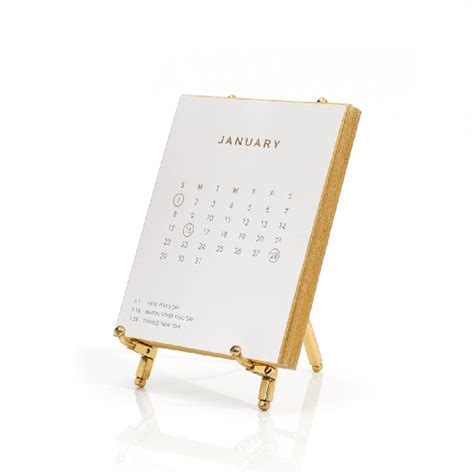 Pink And Gold Desk Calendar by Gold Office Desk And Accessory Ideas Update Your