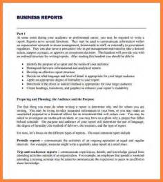 Report Writing Exle Pdf For Students by 9 Business Report Exles Bussines 2017