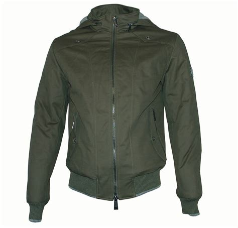 Hooded Jacket antony morato green hooded bomber jacket jackets from