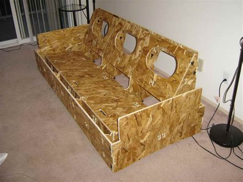 how to make a sofa home remodeling build your own couch with the box build