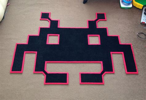 Space Rug Space Invaders Rugs Drop My Technabob