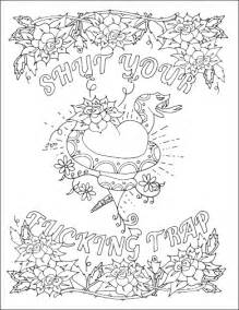 word coloring pages swear word coloring pages coloring pages