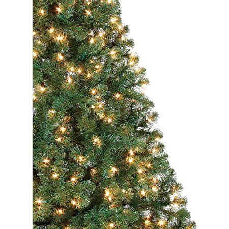 holiday time pre lit 65 madison pine white artificial christmas tree clear lights time pre lit 6 5 pine artificial tree green clear lights best