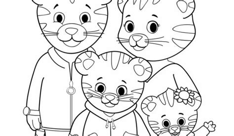 daniel tiger coloring pages daniel tiger trolley printable coloring pages daniel