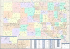 South Zip Code South Dakota Zip Code Map