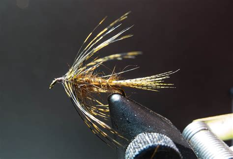 swinging wet flies for trout ultralight fly fishing wet fly swing ul style