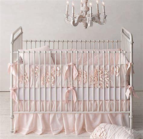 Restoration Hardware Petal Nursery Nursery Pinterest Restoration Hardware Crib Bedding
