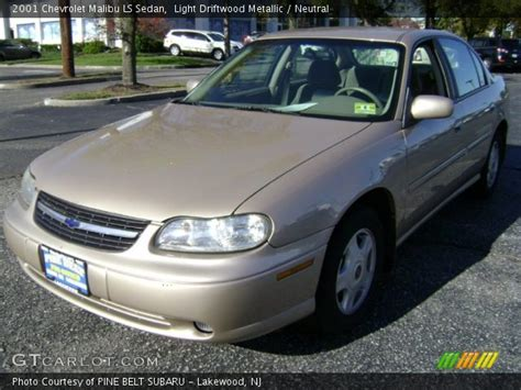 driftwood ls for sale light driftwood metallic 2001 chevrolet malibu ls sedan