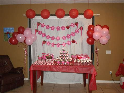 simple birthday table decoration ideas google search