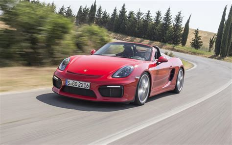 porsche boxster spyder 2015 porsche boxster spyder 981 2015 test specificaties