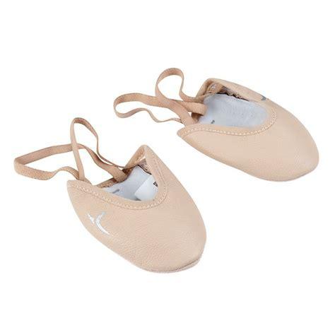 imagenes de zapatillas escolares mezze punte ginnastica ritmica cuoio rosa domyos