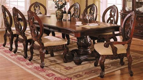 09955 versailles dining room in cherry by acme