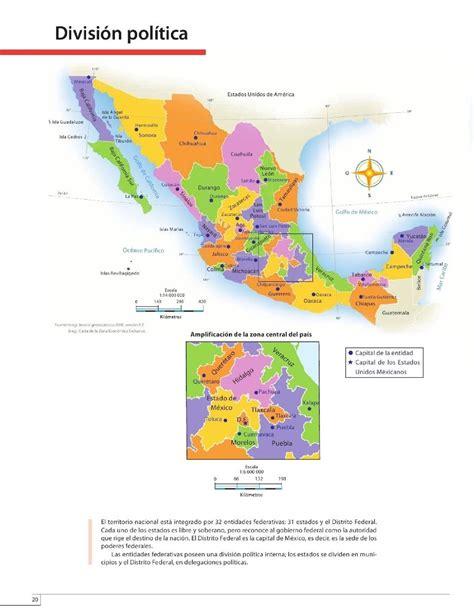 atlas de mxico 4 grado 2015 2016 divisi 243 n pol 237 tica bloque ii lecci 243 n 1 apoyo primaria