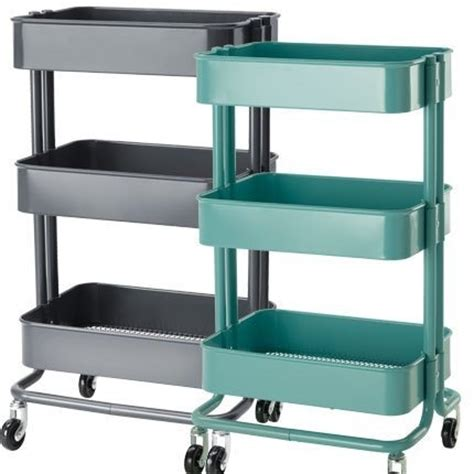 metal ikea rolling cart home decor ikea best ikea amazon com ikea raskog kitchen cart turquoise raskog