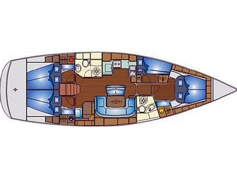 Log Cabin Layouts bavaria yachts germany sailboats